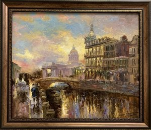 Painting - Griboedov Canal