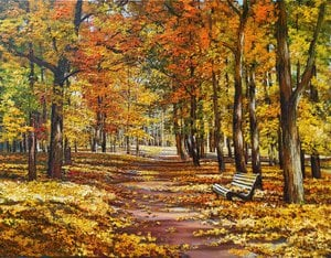 Painting - Velvet Autumn