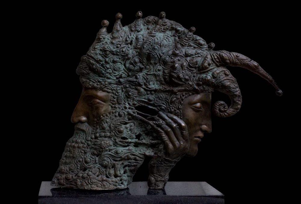 Король и шут скульптура