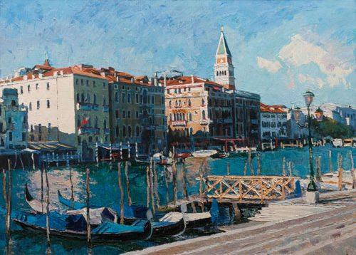 Oil painting on canvas ❀ San Marko