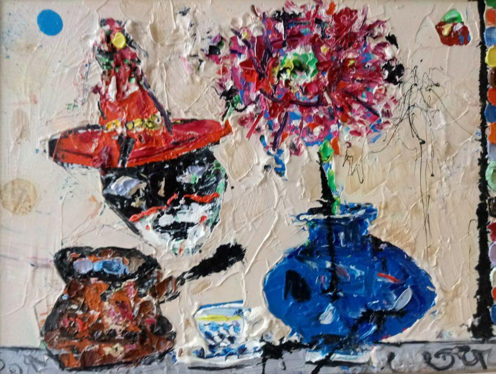 Картина маслом на холсте ❀ Кофе