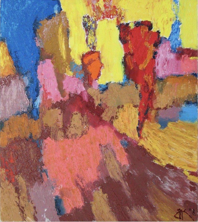 Картина маслом на холсте ❀ Неудержимый свет ❀