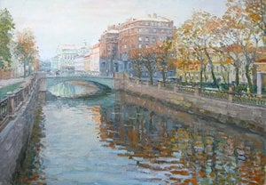 "Painting ""Krykov canal"""