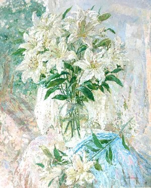 Painting - Lilies
