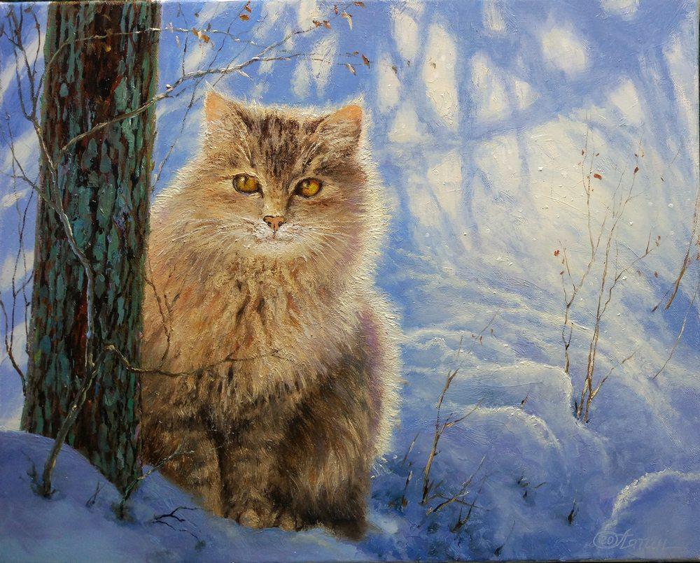 Oil painting on canvas ❀ Murka