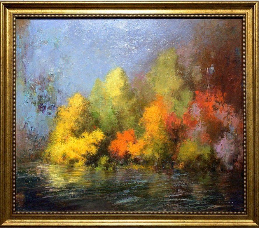 Oil painting on canvas ❀ Autumn