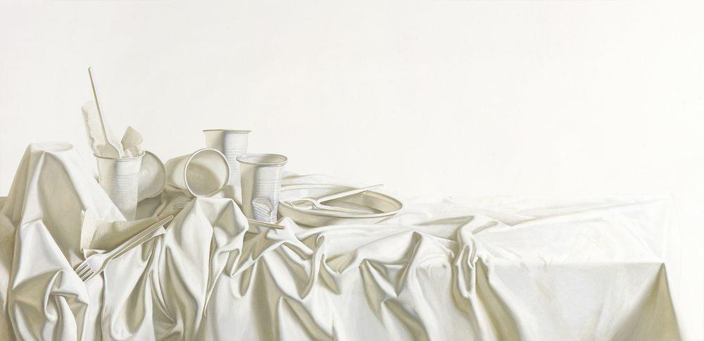 Картина маслом на холсте ❀ Одноразовый-1