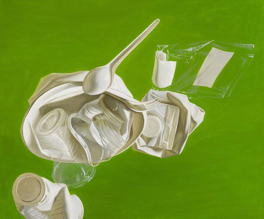 Картина маслом на холсте ❀ Завтрак на траве