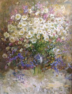 Painting - Chamomile
