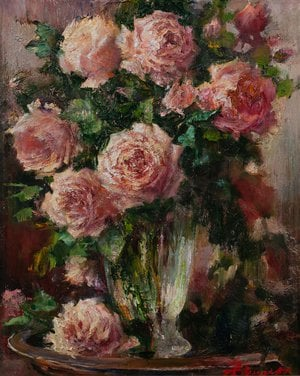 "Painting ""Roses"""