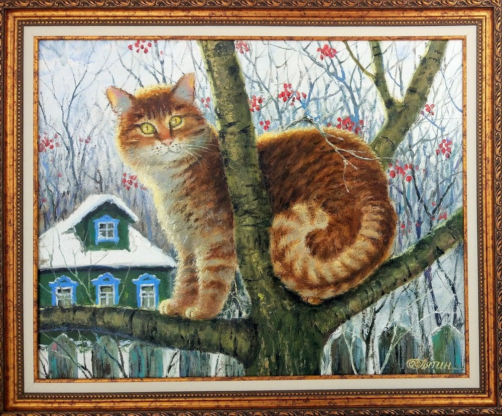 Oil painting on canvas ❀ Ginger