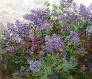 Painting - Lilac