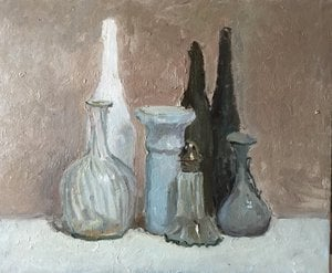 Painting - Visiting Morandi