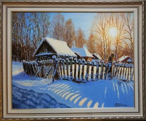 Painting - Winter morning
